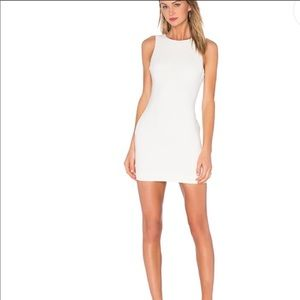 BRAND NEW LIKELY WHITE BODYCON DRESS